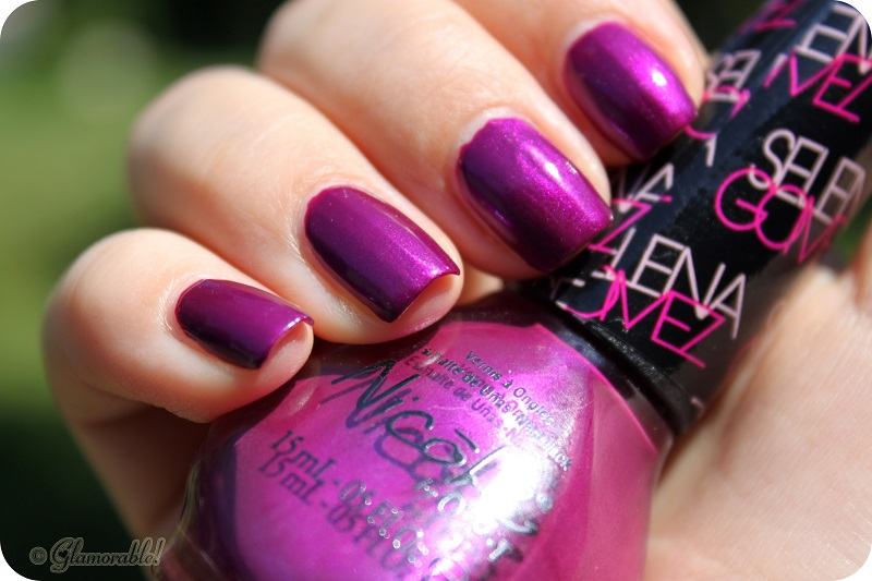 Nicole by OPI Nail Polish Pretty In Plum Swatches and Review ...