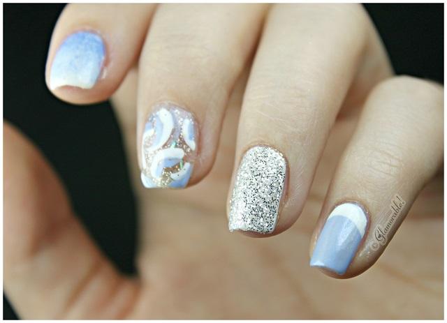 Disney Castle Inspired Nails | www.imgkid.com - The Image ...