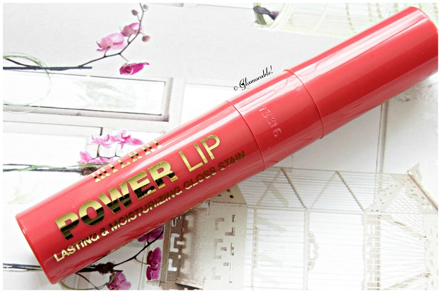 Milani, Spring 2014, Spring collection, power lip, lip gloss, lip stain, liquid lipstick, coral, orange, long-lasting, affordable makeup, drugstore brands, best lip gloss