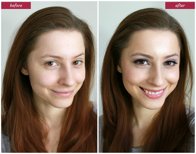 Makeup to enhance natural beauty