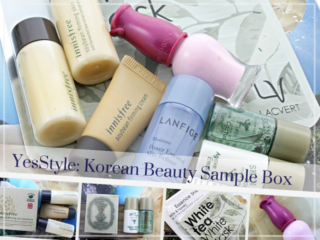 Yesstyle March 2014 Korean Beauty Sample Set Review Pictures