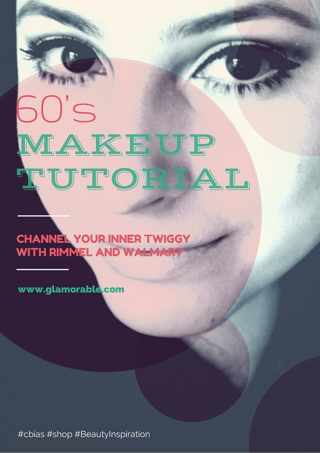 Mod makeup, Twiggy, 60s Makeup tutorial, Rimmel London, best Cheap mascara, drugstore mascara, drugstore foundation, walmart beauty, makeup looks, how to put on mascara, prom makeup tutorial, foundation tips