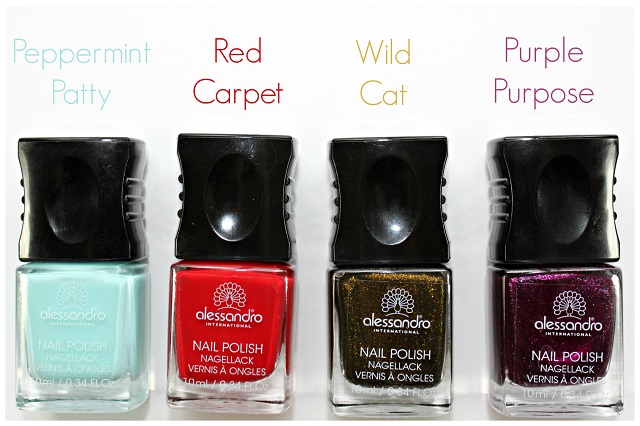 Alessandro Nail Polish In Peppermint Patty Red Carpet