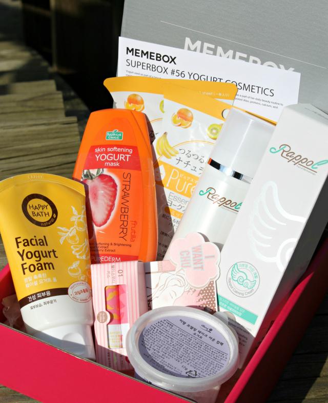 Memebox (미미박스) Yogurt Cosmetics Box Review, Pictures, Unboxing + October Discount Codes   via @glamorable #memebox #memeboxglobal #bbloggers #beautybox #kbeauty