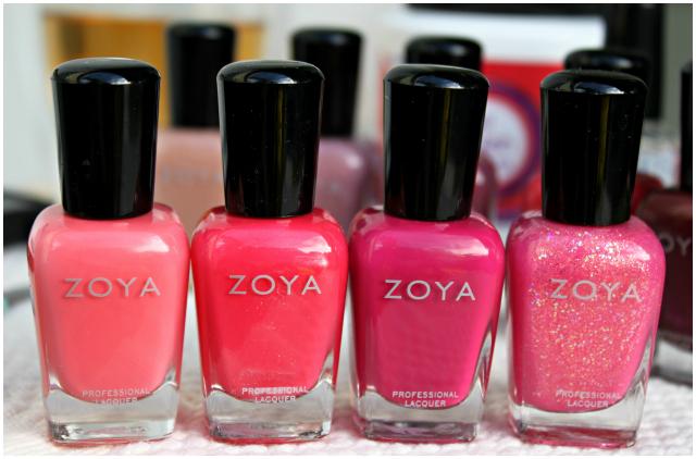 My Mom's Zoya Haul Part I: The Pinks ft. Wendy, Harper, Yana and Caprice | via @glamorable #bbloggers #beauty #nails #nailpolish #manicure #zoya #mani #manimonday #haul #beautyhaul #pink #creme #glitter #shimmer #cool