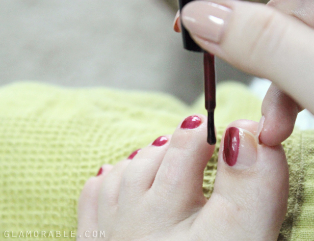 Quick 20-Minute Pedicure With Amopé Pedi Perfect >> http://ow.ly/EOMY9 | via @glamorable @Target #RespectUrFeet #shop #cbias