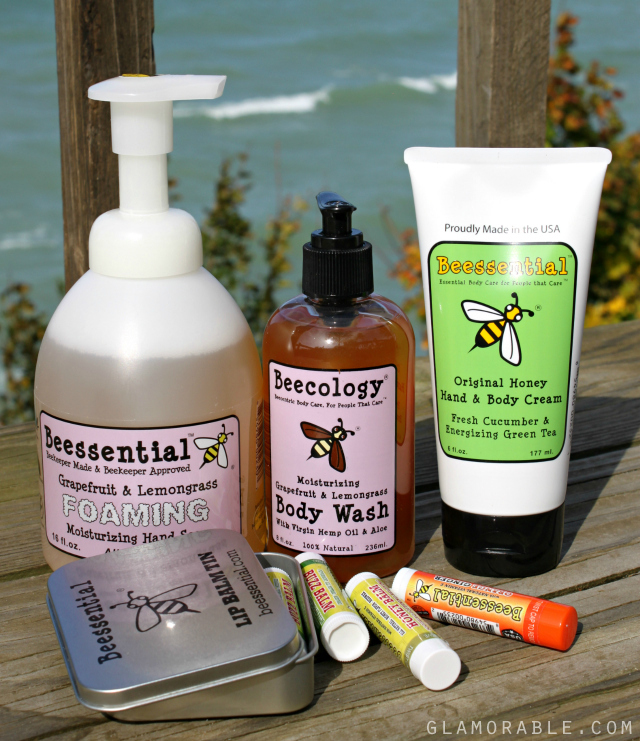 Buzzz-Worthy Skin Treats from Beessential | via @glamorable #bbloggers #skincare #bzzz #bees #honey #beecology #naturalbeauty #veganbeauty #naturalproducts #smallbusiness #skincare #bodycare #beautyproducts #fall