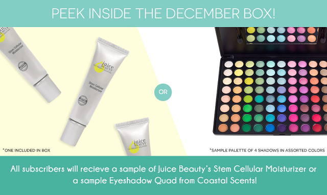 Beauty Box 5 December 2014 Sneak Peek, Spoiler, Products