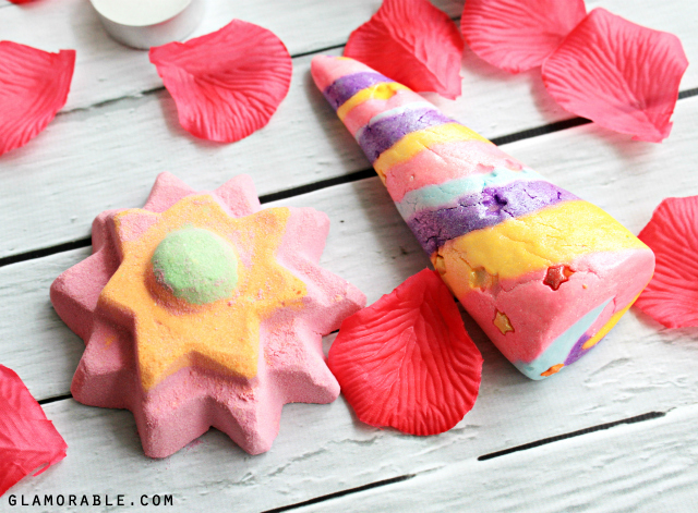 On the blog: Unicorn Horn Bubble Bar and Floating Flower Bath Bomb from Lush Valentine's Day Collection >>  | via @glamorable #thebeautycouncil #theydoexist