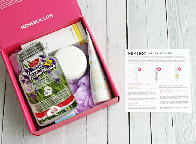 Memebox USA Seeds & Flowers Unboxing & Review, Current Discount Codes