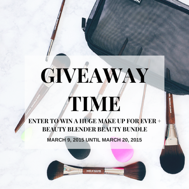 MAKE UP FOR EVER GIVEAWAY-2
