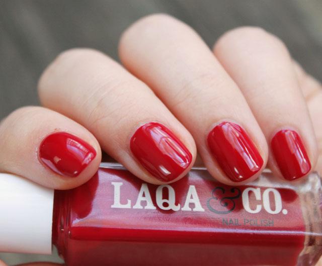 LAQA & Co Nail Threefer Gift Set Review, Swatches, Nail Polish