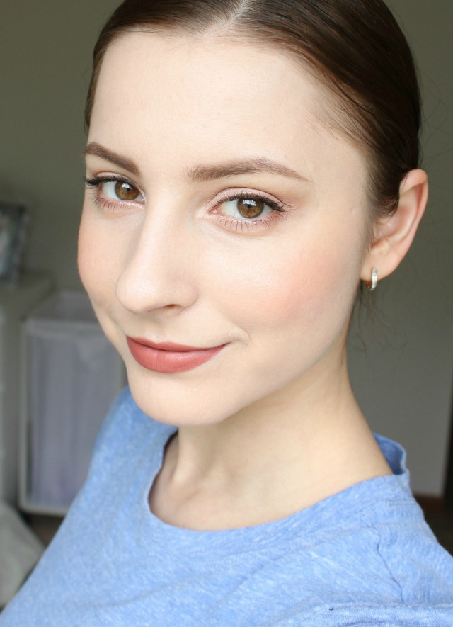spring beauty makeup look, face of the day, fotd, glo minerals, mineral makeup, natural beauty, no makeup look, the beauty council