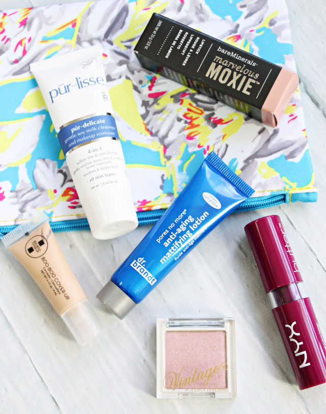 Ipsy March 2015 Unboxing & Review