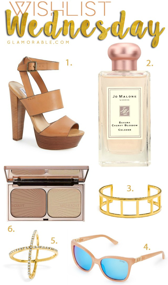 Wishlist Wednesday #1: Things I'm Loving This Week. There's a little bit of everything, from fashion and accessories, to makeup and fragrance! >> http://bit.ly/1Gg6rn7 | via @glamorable