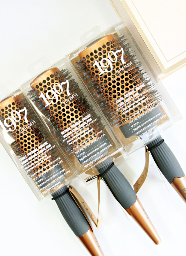 1907 By Fromm Square Thermal Brushes Reviewed