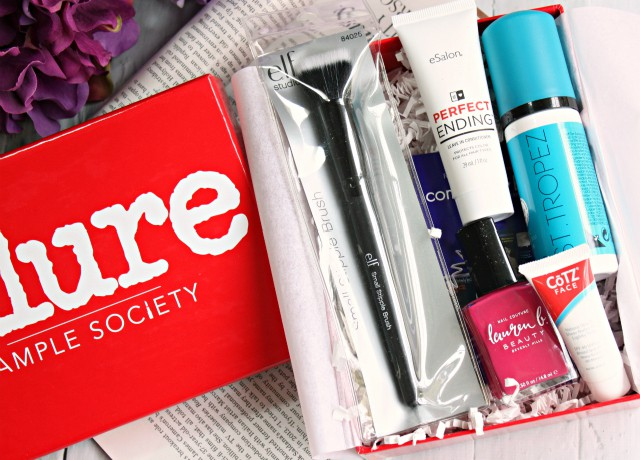 Allure Sample Society June 2015 Review