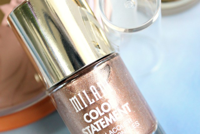 Milani Color Statement Nail Lacquer 55 Dolci Swatches & Review. More at https://glamorable.com | via @glamorable