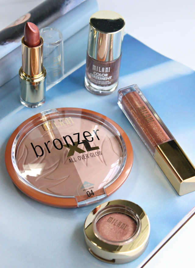 Review and swatches of all five products from the NEW Milani Dolci Bronze Limited Edition Collection for Summer 2015. More at https://glamorable.com | via @glamorable