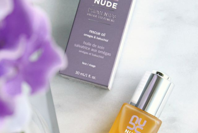 If you have a combination-dry skin type, you need to check out my NUDE Skincare Progenius Omega Treatment Rescue Oil review. Your skin might love it! Read more: glamorable.com | via @glamorable
