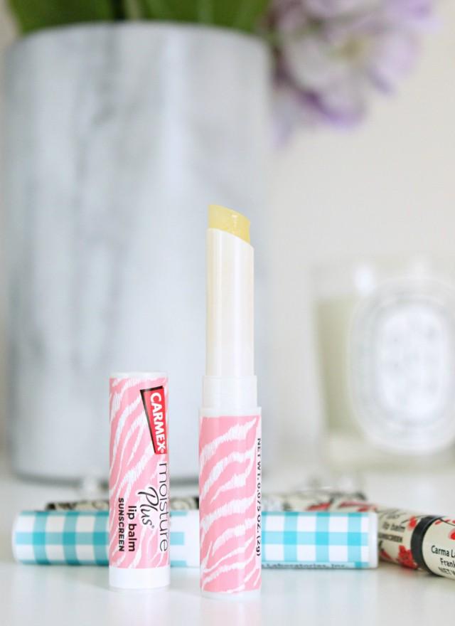 Carmex Moisture Plus Lip Balm Review. Read more at >> www.glamorable.com | via @glamorable