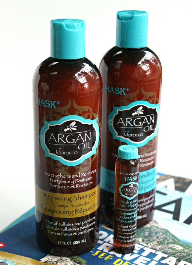 Hair Envy Starts with HASK Argan Oil Repairing Hair Care Collection. Read more at >> www.glamorable.com   via @glamorable