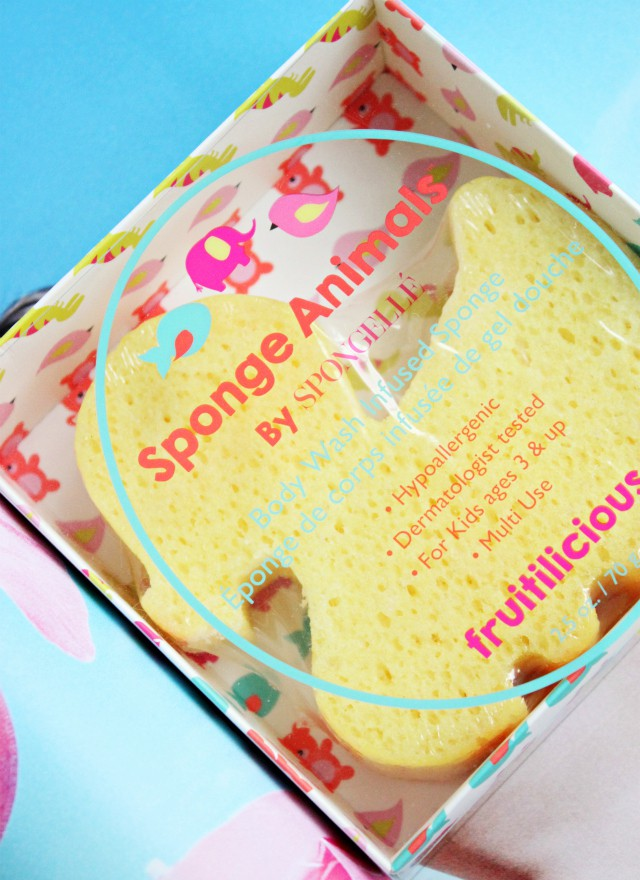 Shower Time Fun with Spongellé. Read more at >> www.glamorable.com | via @glamorable