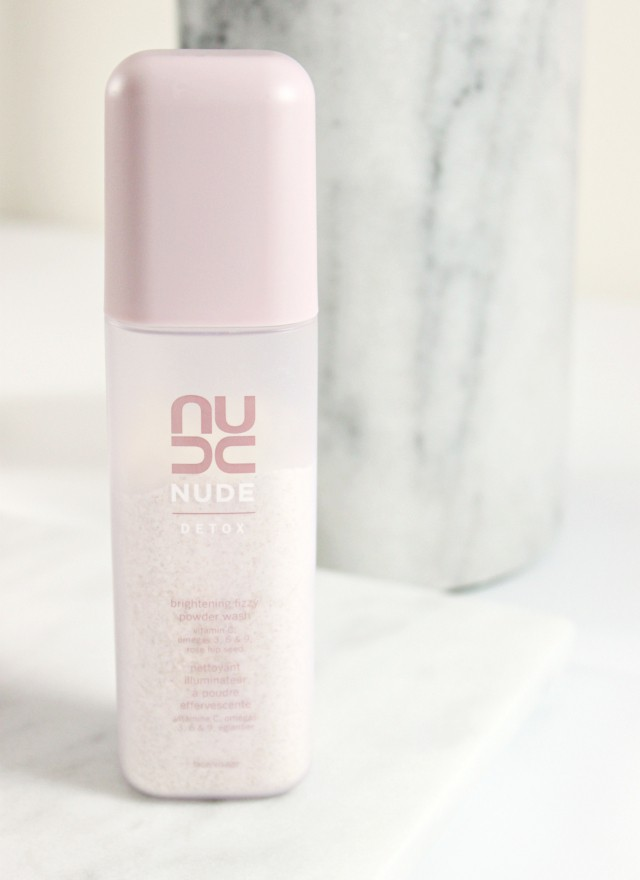 NUDE Skincare Detox Brightening Fizzy Powder Wash Review and pH. Read more at >> www.glamorable.com | via @glamorable