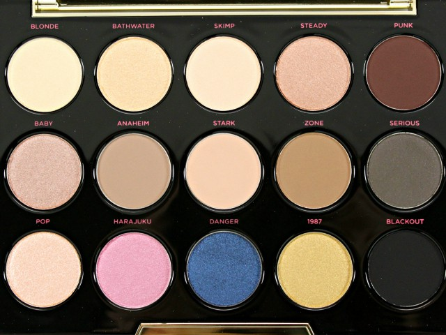 Urban Decay x Gwen Stefani Palette Review, Swatches & Makeup Look. Read more at >> www.glamorable.com | via @glamorable