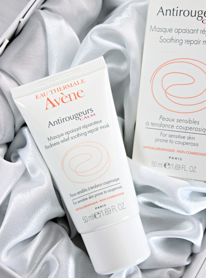 Best Winter Products for Sensitive Skin. Avene Antirougeurs Calm Soothing Repair Mask