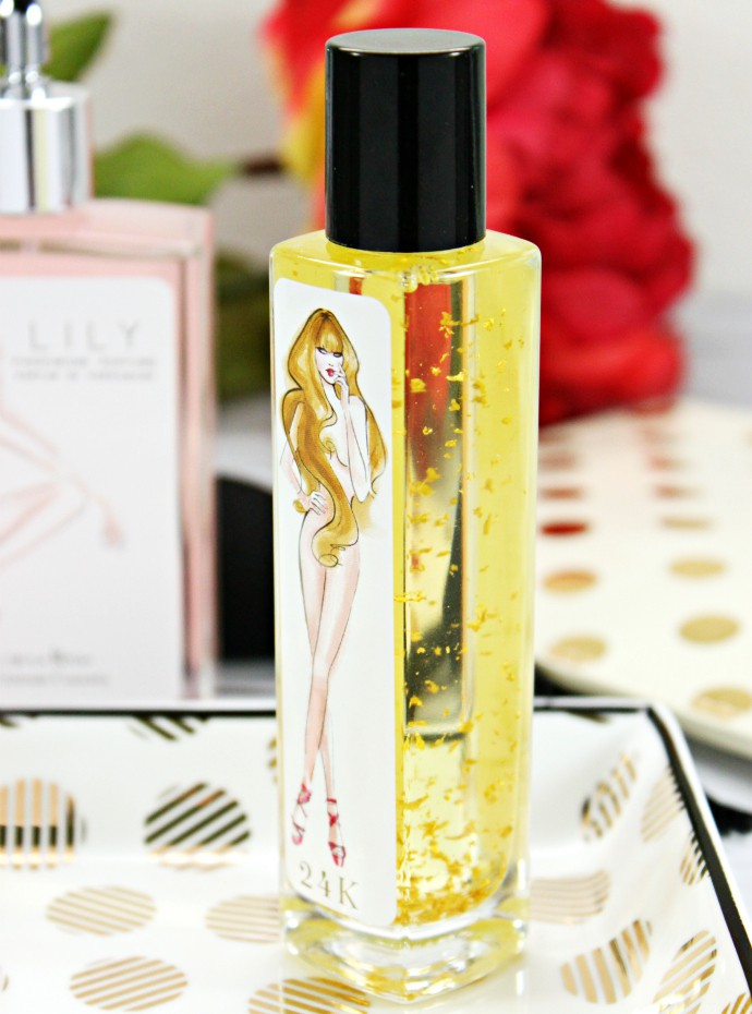 Luz de la Riva Lulu 24K Edible Massage Oil