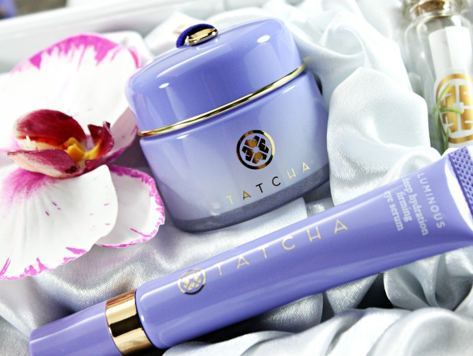 TATCHA Deep Hydration Firming Eye Serum & Overnight Memory Serum Concentrate