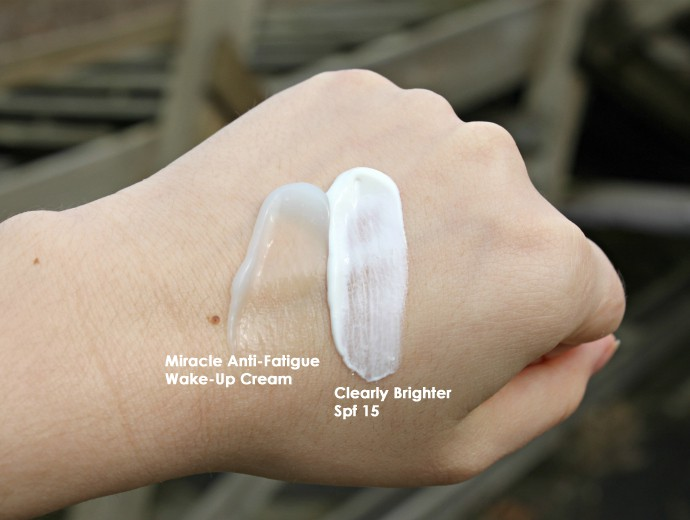 Garnier Micellar Cleansing Water, Garnier SkinActive Miracle Anti-Fatigue Wake-Up Cream