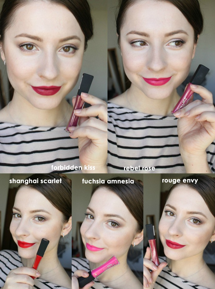 L'Oreal Infailible Pro-Matte Gloss 304 Rebel Rose Swatch Review