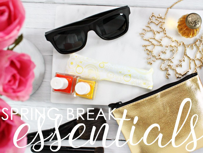 Pack Your Bag Like a Beauty Editor: Spring Break Must Haves