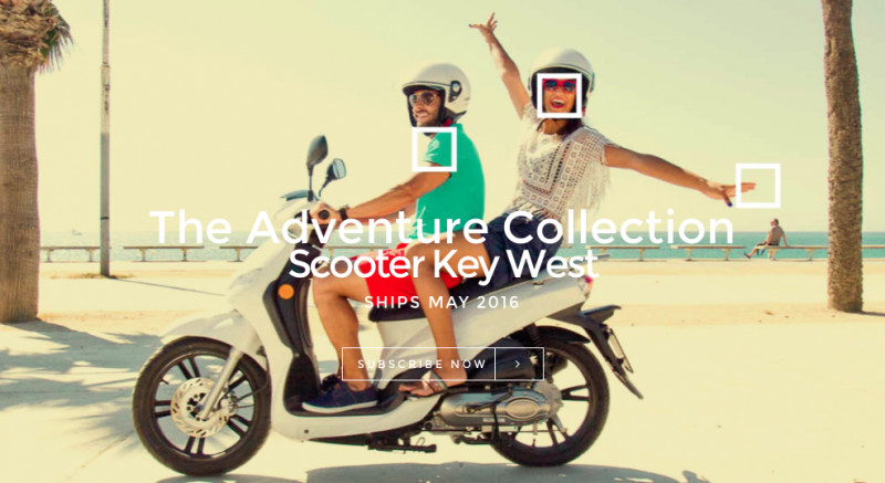 SquareHue May 2016 Scooter Key West