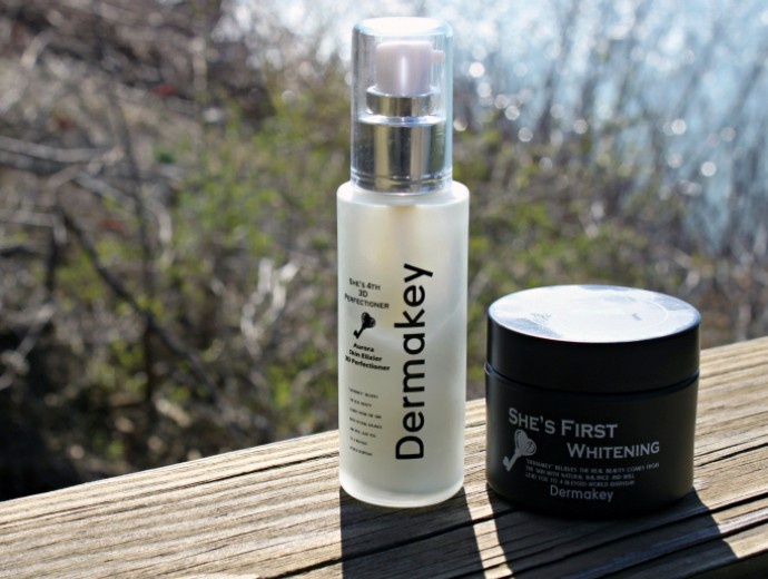 Dermakey Skincare | She's First Whitening Cream, She's 4th Aurora Skin Elixier 3D Perfectioner