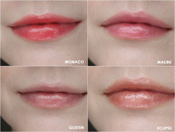 Under-the-Radar Beauty | Jouer Moisturizing Lip Gloss in Monaco, Malibu, Glisten, and Eclipse (Swatches, Review)