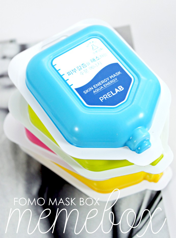 Memebox FOMO Mask Box