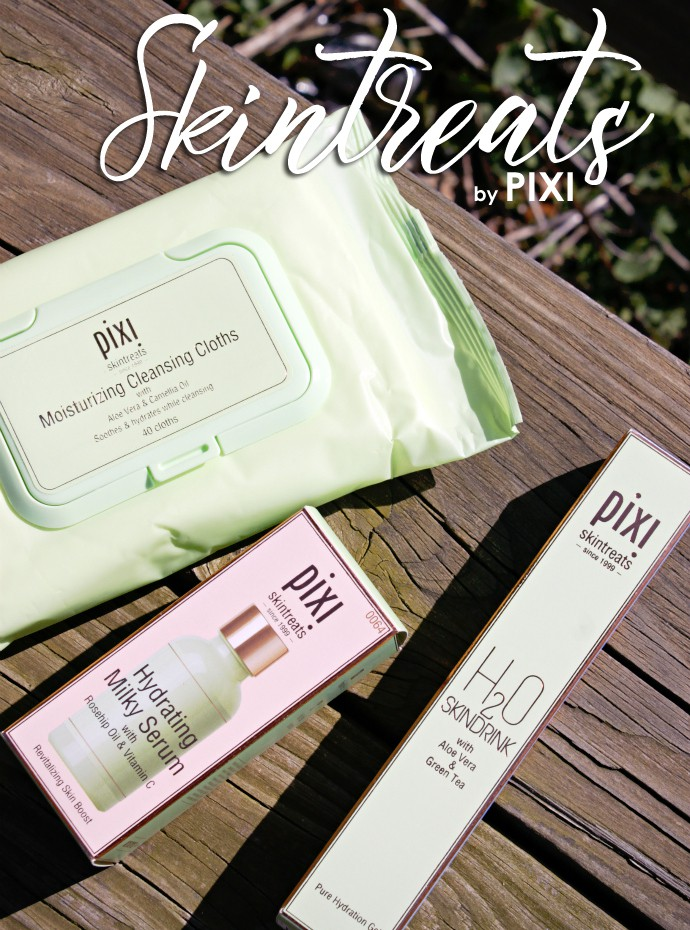 Refreshing Skin Hydrators from PIXI | Hydrating Milky Serum, Moisturizing Cleansing Cloths, H2O Skindrink