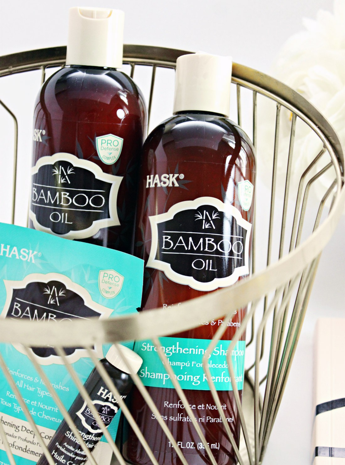 HASK Bamboo Oil Collection for Damaged Hair
