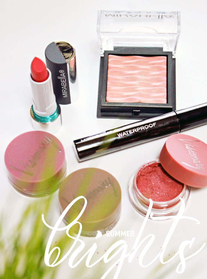 It's time to upgrade your makeup routine for summer with new vibrant shades from Mirabella Lighten Up and Heat Collections!