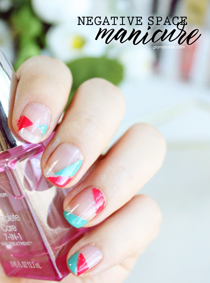 Easy Negative Space Manicure Tutorial