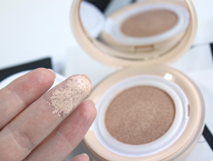 Botanic Farm Waterfull Serum BB Cushion #21 Review, Swatches