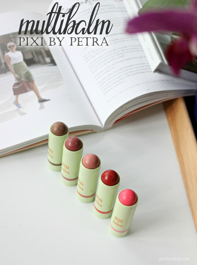 PIXI Multibalm Swatches, Review