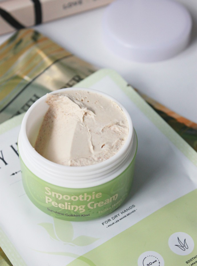 Korean beauty products at Ricky's: Holika Holika Smoothie Peeling Cream Golden Kiwi