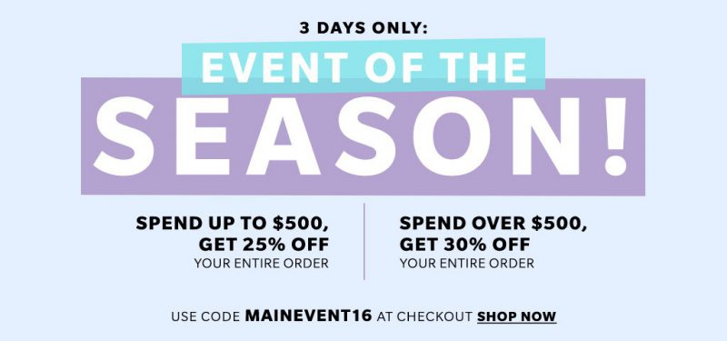 What to Grab at Shopbop Event of The Season Sale