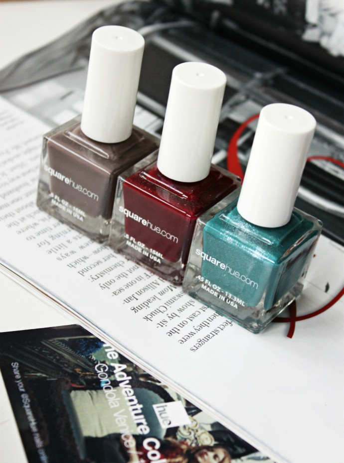 SquareHue October 2016 review, swatches