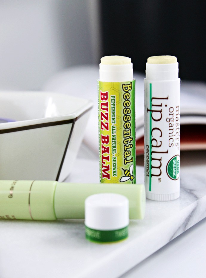 5 Best Lip Balms for Chapped Lips | Beessential Buzz Balm, PIXI Nourishing Lip Polish, John Masters Organics Lip Calm