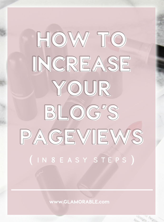 BLOGGING TIPS: 8 Easy Steps to Increase Your Blog's Pageviews | Consequences of Lazy Blogging and How To Turn Jealousy Into Success